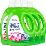 绿伞洗衣液 薰衣芳菲 3kg*4瓶装 79.92