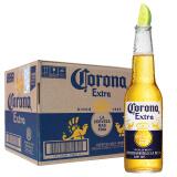墨西哥进口 科罗娜(Corona)啤酒 330ml*24瓶 整箱 168元