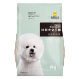疯狂的小狗 狗粮幼犬成犬 宠物比熊全犬期专用 肉松粮2kg *3件 109.7元(合 36.57元/件)
