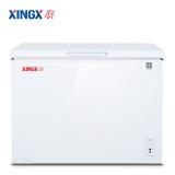 星星(XINGX) 217升 商用家用冰柜 微霜系统 欧式直角 冷藏冷冻转换冷柜 单温单箱冰箱 BD/BC-217JE 1199元