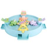 贝恩施(beiens)抖音同款儿童益智玩具 戏珠桌面游戏亲子互动青蛙吃豆YZ13 *4件 156元(合 39元/件)