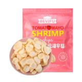 韩国进口网红零食百味福BEVIFU番茄味大虾片245g膨化食品巨型礼包 *6件 121.4元(合20.23元/件)
