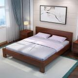 伊林雅 北欧实木双人床 1.5*2m 架子床 1170元包邮(双重优惠)