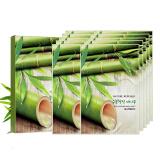 自然共和国 原自然乐园 精粹自然竹子面膜 23ml*10片 *5件 99元(合19.8元/件)