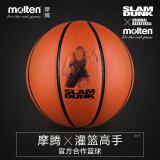 移动端:Molten 摩腾 X 灌篮高手 樱木花道 B7X-SD 7号篮球 79元包邮(两人拼团)