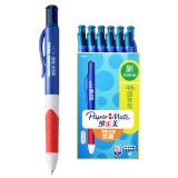 缤乐美(Paper Mate)意趣速干中性笔 签字笔Q1 0.7MM商务色12支装 *5件 337.5元(合 67.5元/件)