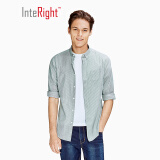 InteRight 男士条纹棉质衬衫 *2件 117.53元包邮(需用券,合58.77元/件)