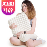 12日0点、双12预告:Mian 眠度 大颗粒天然乳胶按摩枕 58*34*11/9cm *2件 133元包邮(需用券,合66.5元/件)