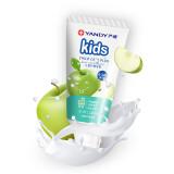 严迪(YANDY)6~12岁换牙宝 苹果味儿童牙膏 60g(无氟可吞咽 防蛀) *2件 15.9元(合 7.95元/件)