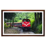 京东方(BOE)画屏32英寸数字艺术馆红木色框显示器/智能画框/数码相框 1349.5元