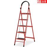 双鑫达 梯子家用人字梯折叠五步家用梯子 LD-11 加宽防滑踏板 79.5元