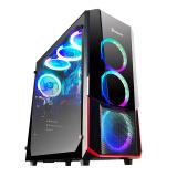 艾湃电竞Hermès百变天使-C2中高塔游戏机箱 可替换前面板 EATX主板/钢化玻璃309元