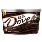 京东PLUS会员、新补货:Dove 德芙 66%醇黑巧克力 252g 27.9元