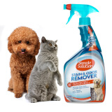 亲宝舒 SIMPLE SOLUTION 狗狗除剂宠物去味剂去污渍喷剂狗香水猫咪去尿骚味除味剂 87元