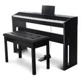 SUOSite 索思特 电钢琴 单踏板力度键木纹款 雅致黑 1059.2元包邮