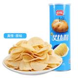盼盼 艾比利薯片零食 膨化休闲食品罐装原味95g *13件 47.85元(合3.68元/件)