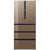 西门子(SIEMENS)变频零度保鲜 智感零度冰箱 家居互联 净风系统 金棕色 BCD-491W(KM49FSG0TI) 14690元