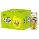 汉斯 菠萝啤 果味饮料汽水 500ml*12罐 整箱装 无酒精 *2件 39.9元(合 19.95元/件)