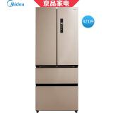 美的变频风冷多门冰箱BCD-421WTPM(E) 3298元包邮(需用券)