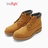 InteRight 男士低帮牛皮工装靴 209元