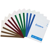 Comix 齐心 C4503 A5软抄笔记本 40页 12个本装 *10件