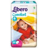 Libero 丽贝乐 婴儿纸尿裤 M号 84片 *2件 149元(合74.5元/件)