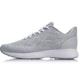 李宁LI-NINGARHN208-2跑步系列女减震跑鞋微晶灰/标准白/凝雪灰码 104.67元