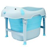 日康(rikang)浴桶婴儿洗澡盆宝宝儿童洗澡桶二合一可折叠新生儿宝宝婴儿游泳桶0岁以上蓝色RK-X1018-1 169.15元(需用券)