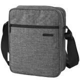 LEXON 乐上 LNE6006G06J 单肩包 男女款平板电脑包商务IPad斜挎包 深灰色 *2件 148.5元(合74.25元/件)