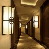 HD 新中式壁灯 客厅装饰灯卧室床头灯具 酒店墙壁灯走廊过道灯 锦瑞(含LED光源) 269元