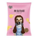 单身狗粮(SINGLE DOG) 地中海盐味薯片(45克袋装)网红膨化休闲零食 *28件 93.2元(合3.33元/件)