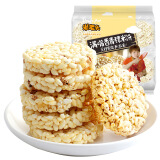 米老头 青稞米饼 休闲办公零食大礼包 芝麻味 400g *8件 53.2元(合6.65元/件)