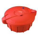 膳魔师 THERMOS 小型微波炉压力锅食品级材料奶锅煲汤米饭锅抖音2.2L(RD) 279元(需用券)