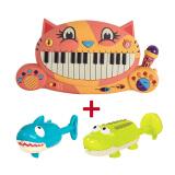 B.Toys 比乐 大嘴猫钢琴+动物喷水玩具+凑单品 券后 180元