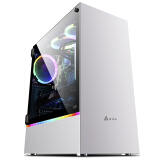 金河田(Golden field)峥嵘Z23台式电脑机箱 全侧透LED游戏全塔水冷主机箱(EATX/ATX/MATX/ITX/240冷排) 299元