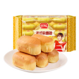 PANPAN FOODS 盼盼 法式软面包 奶香味 300g(内装15枚) *2件12.9元(合6.45元/件) 12.90
