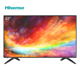 海信(Hisense) HZ43E350A 43英寸 液晶电视 1549元