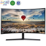 三星(SAMSUNG)27英寸1800R曲面 广视角微边框 HDMI高清接口 电脑液晶显示器 (C27F396FHC) 1099元