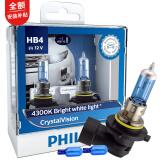 飞利浦(PHILIPS)水晶之光新银战士9006升级型汽车灯泡2支装 色温4300K 139元