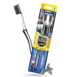 佳洁士 CREST 超细柔韧黑茶深洁牙刷两支优惠装 *12件 101.6元(合8.47元/件)