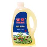 海天食用油低温冷榨一级100%山茶油有机油茶籽油2L*2件 302.4元(合151.2元/件)