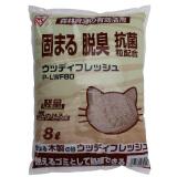 iris 爱丽思 木砂膨润土结团猫砂 8L *3件 48.3元(合16.1元/件)