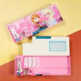 迪士尼(Disney) 多功能双开文具盒 冰雪奇缘 粉色 10.8元