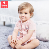 TINSINO 纤丝鸟 儿童夏季睡衣套装 66-100cm 19.9元包邮(需用券) 19.90