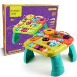 纽奇 (Nukide) 婴儿早教益智玩具1-3岁幼儿宝宝多功能游戏桌学习桌儿童益智力开发玩具生日礼物1周岁2岁3岁 108元