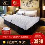 25日0点: KING KOIL 金可儿 假日酒店 玛瑙L 席梦思弹簧床垫 1800*2000mm 3999元包邮(限前30件) 3999.00