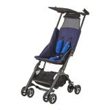 gb好孩子婴儿手推车婴儿车口袋车轻便折叠可登机蓝色POCKIT2S-WH-P306BB 889元