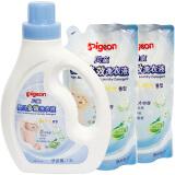 pigeon 贝亲 婴儿多效洗衣液 阳光香型 1.2L+1L*2 *2件
