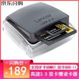 Lexar 雷克沙 RW400 USB3.0 双卡槽SD/CF卡读卡器 189元包邮