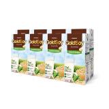 越南进口 谷娜鲜(goldsoy)甜豆奶蛋白质饮料(200ml*4支)*2排 *9件 58元(合6.44元/件)